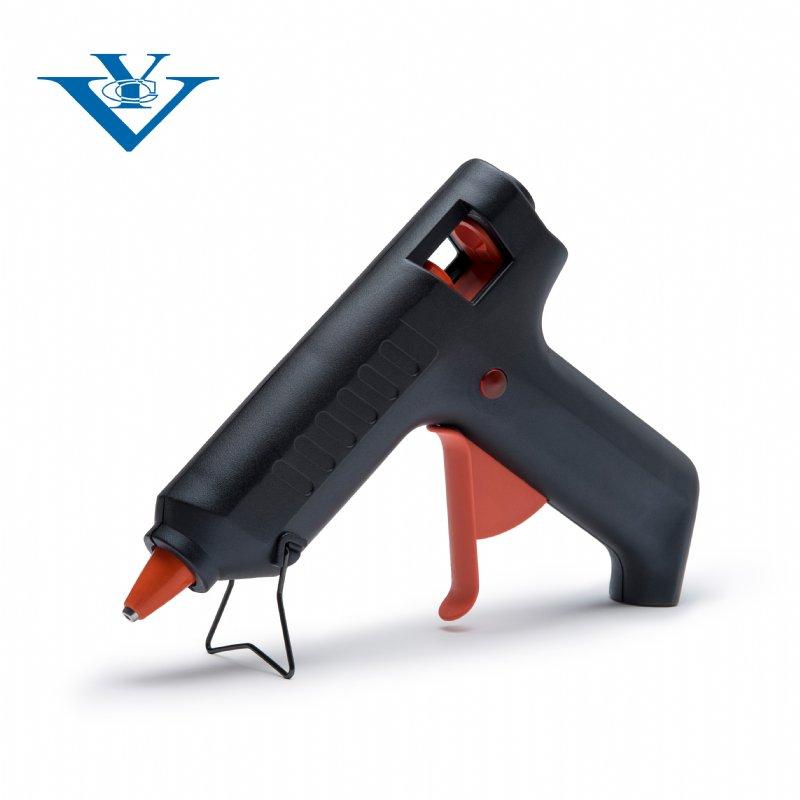 Glue gun with indicator