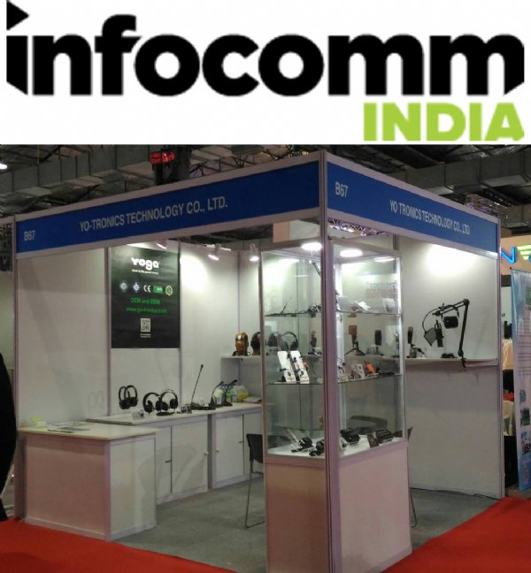 Yo-tronics in 2018 InfoComm India