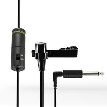 Condenser Tie Clip Microphones (lavalier microphones)