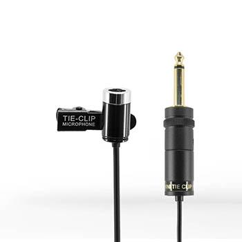 Condenser Tie Clip Microphone (Omni-directional)