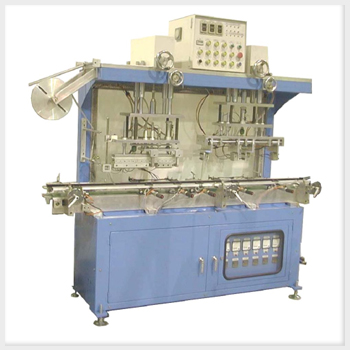 Aluminum Foil Sealing Machine For Motorcycle Battery