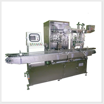 Sulphuric Acid Injecting and Aluminum Foil Sealing Machine For Motorcycle Battery