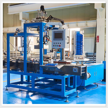 Automatic Lid Placer Machine for Automotive Battery