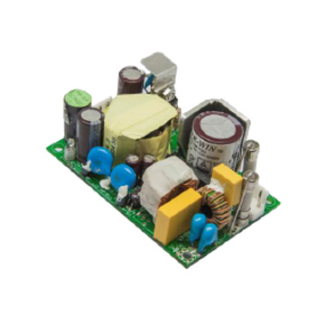 40/65W ITE & Medical open frame power supply, 2x3, DOE level VI and ErP Tier 1 efficiency compliant