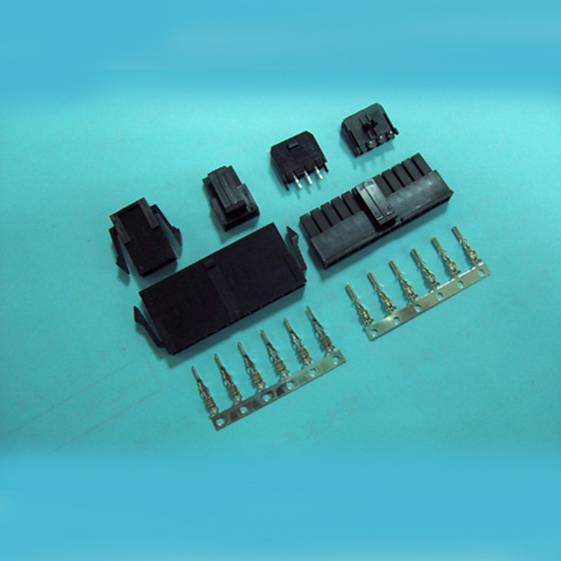 3.00mm pitch Wire to Wire Receptacle - Housing and Terminal - Single Row