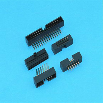 "0.079""(2.00mm) Pitch Dual Row Box Header - DIP type"