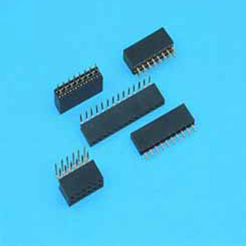 "0.100""(2.54mm) Pitch Single Row Female Headers"