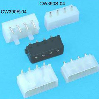 """0.200""""(5.08mm) Pitch Power Connector Wafer"""